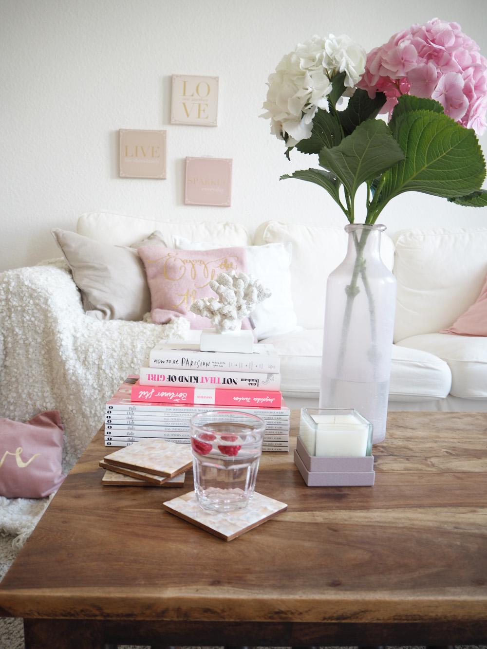 My Livingroom & Coffee Table Styling