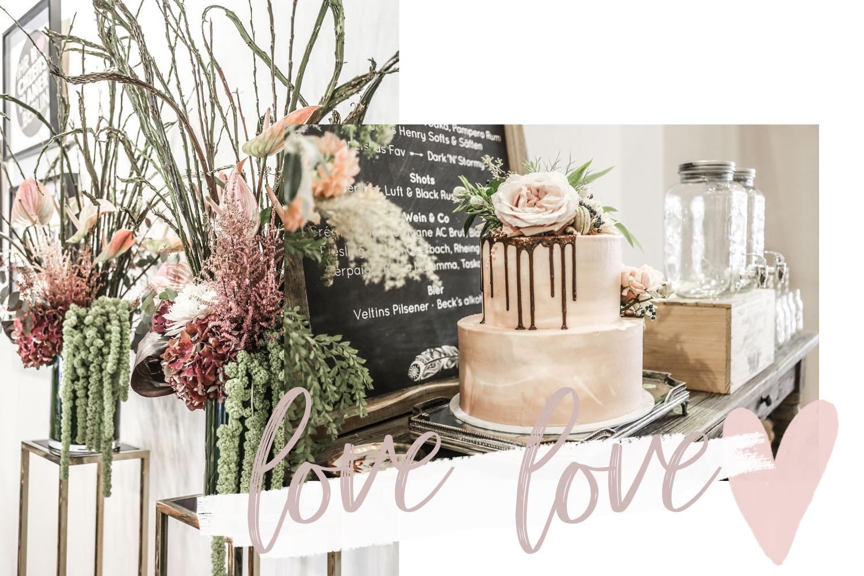 Hochzeitsplanung Tischdeko