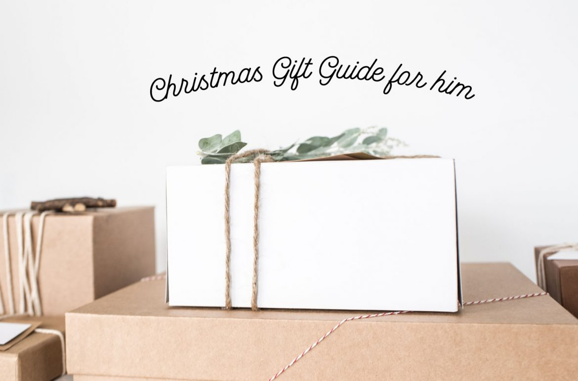 xmas Gift guide for him