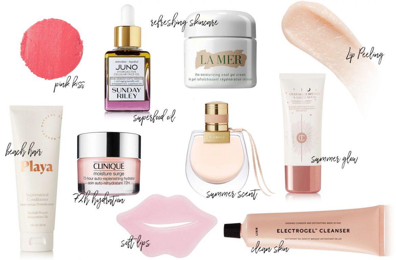Beauty Produkte für den Sommer