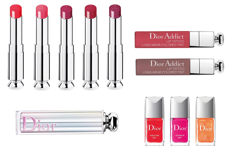 Dior Summer Look Color Games