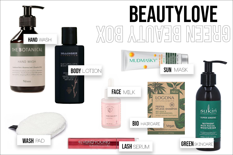 Beautylove Green Beauty Box